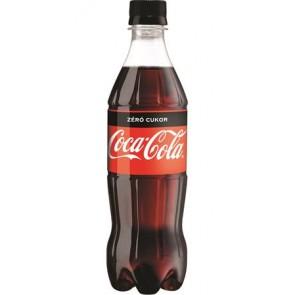"Üdítőital, szénsavas, 0,5 l, COCA COLA ""Coca Cola Zero"""