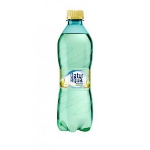 Ásványvíz, ízesített, 0,5 l, NATUR AQUA, körte-citromfű