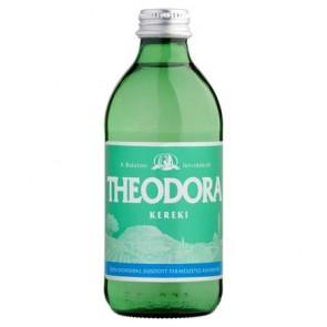 Ásványvíz, szénsavas, üveges, THEODORA, 0,33 l