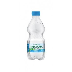 Ásványvíz, szénsavas, pet palack,  0,33 l, THEODORA