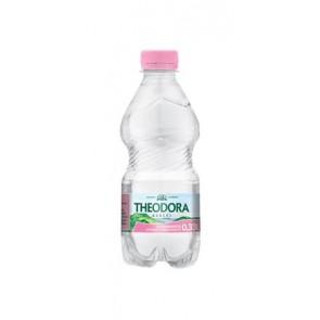 Ásványvíz, szénsavmentes, pet palack, THEODORA,  0,33 l
