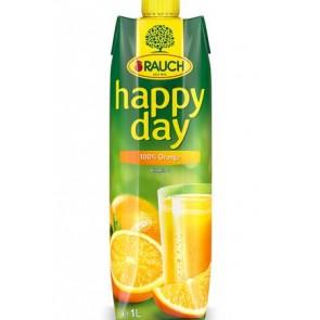 """Gyümölcslé, 100%, 1 l, RAUCH """"Happy day"""", narancs"""