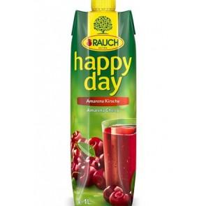 """Gyümölcslé, 50%, 1 l, RAUCH """"Happy day"""", amarena meggy"""