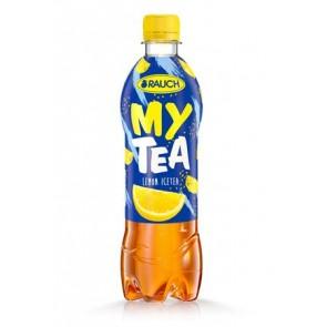 """Üdítőital, szénsavmentes, 0,5 l, RAUCH """"Mytea"""", citrom"""