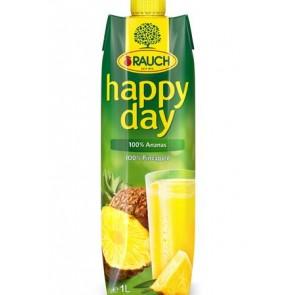 """Gyümölcslé, 100%, 1 l, RAUCH """"Happy day"""", ananász"""