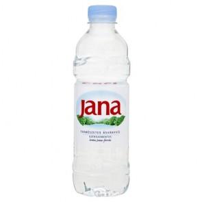 Ásványvíz, szénsavmentes, JANA, 0,5 l