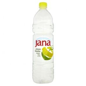 Ásványvíz, ízesített, JANA, 1,5 l, citrom-limetta