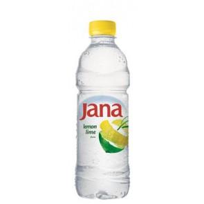 Ásványvíz, ízesített, JANA,  0,5 l, citrom-limetta