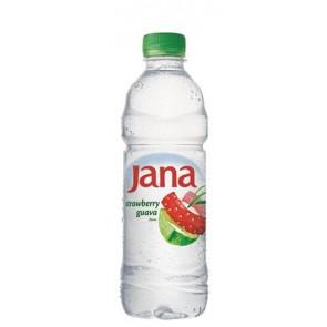 Ásványvíz, ízesített, JANA, 0,5 l, eper-guava