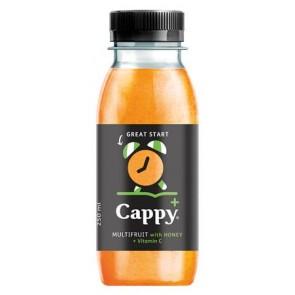 """Gyümölcslé, 55%, 0,25l, CAPPY """"Cappy Plus"""", multivitamin"""