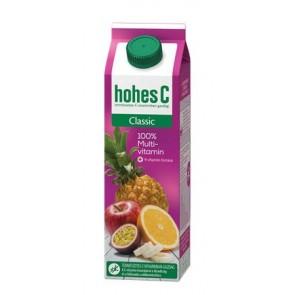 Gyümölcslé, 100%, 1 l, HOHES C, multivitamin