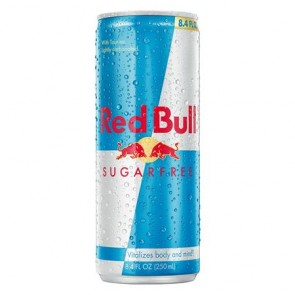 Energiaital, cukormentes, 250 ml, RED BULL