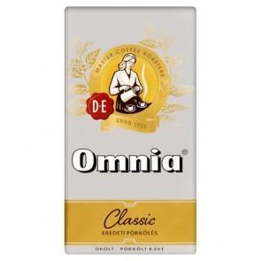 """Kávé, pörkölt, őrölt, vákuumos csomagolásban, 250 g,  DOUWE EGBERTS """"Omnia"""""""