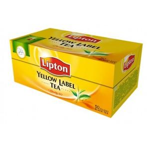 """Fekete tea, 50x2 g, LIPTON """"Yellow label"""""""