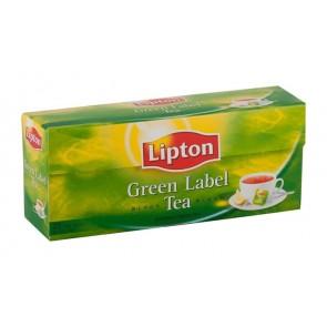 """Fekete tea, 25x2 g, LIPTON, """"Green label"""""""