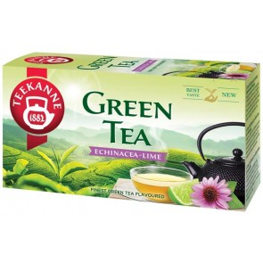 Zöld tea, 20x1,75 g, TEEKANNE, echinacea