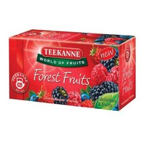 """Gyümölcstea, 20x2,5 g, TEEKANNE """"Forest Fruits"""", erdei gyümölcs"""