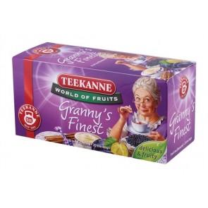 """Gyümölcstea, 20x2,5 g, TEEKANNE """"Granny Finest"""", szilvás-fahéjas"""