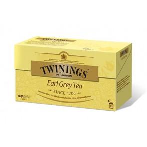 """Fekete tea, 25x2 g, TWININGS """"Earl grey"""""""