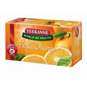 "Gyümölcstea, 20x2,25 g, TEEKANNE ""Fresh orange"""