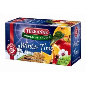 "Gyümölcstea, 20x2,5 g, TEEKANNE ""Winter time"" fahéj"