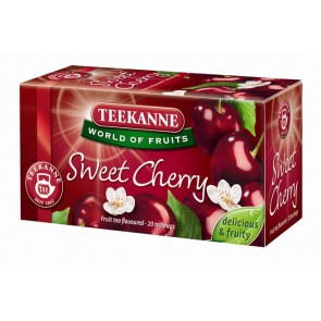 Gyümölcstea, 20x2,5 g, TEEKANNE, édes cseresznye