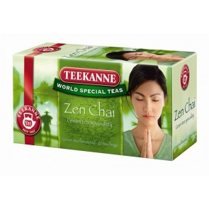 "Zöld tea 20x1,75 g, TEEKANNE ""Zen chai"""