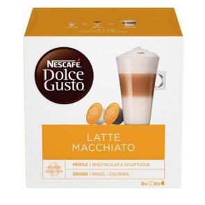 """Kávékapszula, 8x2 db,  NESCAFÉ """"Dolce Gusto Latte Macchiato"""""""