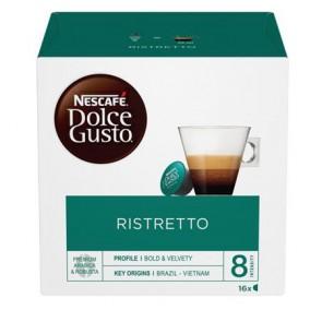 """Kávékapszula, 16 db,  NESCAFÉ """"Dolce Gusto  Ristretto"""""""