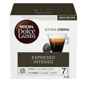 """Kávékapszula, 16 db,  NESCAFÉ """"Dolce Gusto Espresso Intenso"""""""