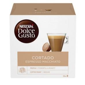 "Kávékapszula, 16 db,  NESCAFÉ ""Dolce Gusto Cortado Espresso Macchiato """