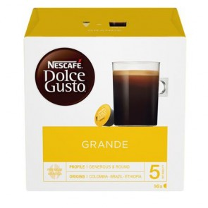 """Kávékapszula, 16 db,  NESCAFÉ """"Dolce Gusto Grande Aroma"""""""