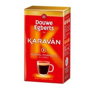 """Kávé, pörkölt ,őrölt, vákuumos csomagolásban, 225 g, DOUWE EGBERTS """"Karaván"""" normál pörkölés"""