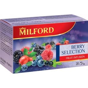 Gyümölcstea, 20x2,5 g, MILFORD, bogyós gyümölcsök