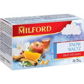 """Gyümölcstea, 20x3 g, MILFORD """"Hópelyhek tánca"""""""