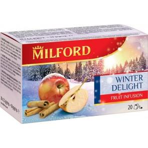 """Gyümölcstea, 20x2,5 g, MILFORD, """"Téli örömök"""""""
