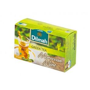 """Zöld tea, 20x1,5g, DILMAH, """"Marokkói menta"""""""