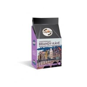 """Kávé, pörkölt, szemes, 125 g, CAFE FREI """"Amszterdami brandy"""" karamellizált naranccsal"""