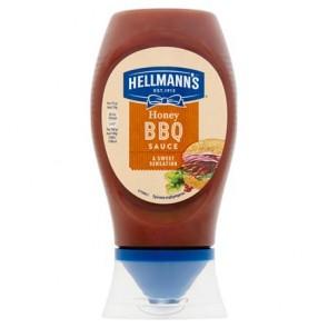 Barbecue szósz, mézes, 250 ml, HELLMANNS