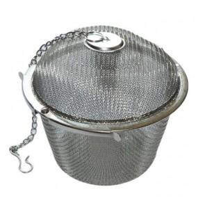 Teatojás, rozsdamentes acél, hálós, 9cm