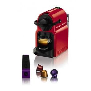 """Kávéfőzőgép, kapszulás, KRUPS"""" Nespresso-XN 1005 Inissia"""" rubinvörös"""