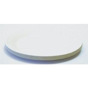 Papírtányér, kerek, 23 cm átmérő