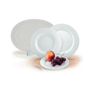 """Desszertes tányér,ROTBERG, fehér, 19 cm, 6db-os szett, """"Basic"""""""