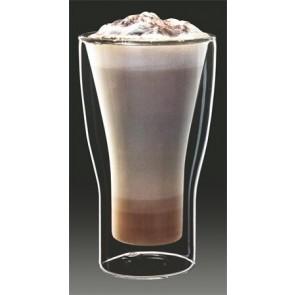 "Latte macchiatos pohár, duplafalú üveg, 34cl, 2db-os szett, ""Thermo"""