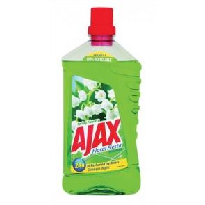 Általános tisztítószer, 1 l,  AJAX, gyöngyvirág, zöld