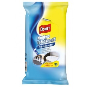 Nedves törlőkendő fürdőszobai 30 db