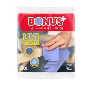 """Törlőkendő, univerzális, 3 db """"Bonus Premium Line"""""""
