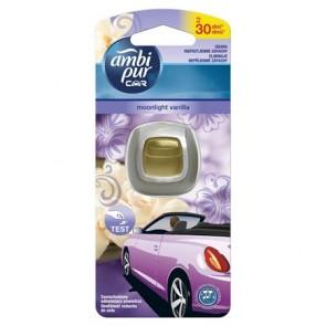 """Autóillatosító, 2 ml, AMBI PUR """"Car"""", Moonlight vanilla"""