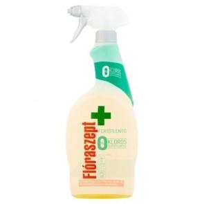 Általános tisztító- és fertőtlenítő spray, klórmentes, 700 ml, FLÓRASZEPT
