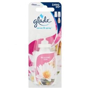 """Illatosító készülék utántöltő, 18 ml, GLADE by brise """"Sense&Spray, japán kert"""